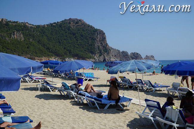 Пляж Клеопатри в Аланії, Туреччина