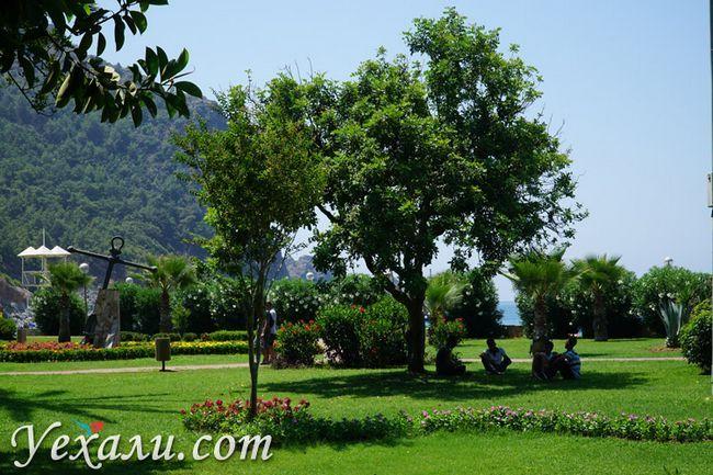 Парк біля пляжу Клеопатри