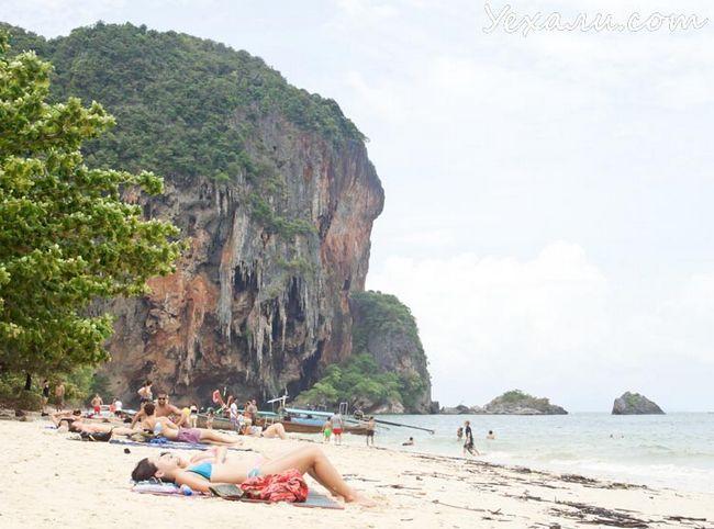 Пляж Прананг в Крабі