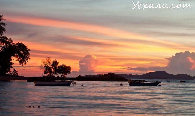 Кращі фото заходу: Таїланд, Паттайя, Вонгамат