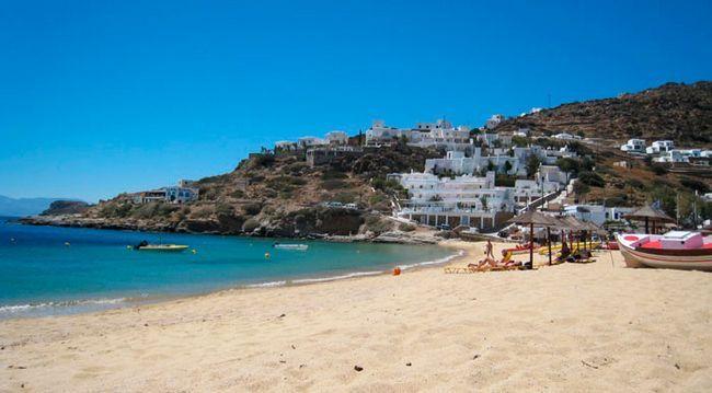 Кращі пляжі Греції: Манганарі