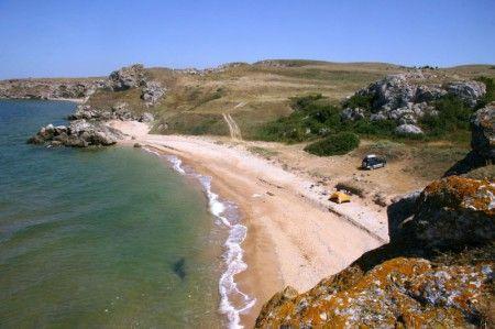 Пляжі криму (південно-східне узбережжя)