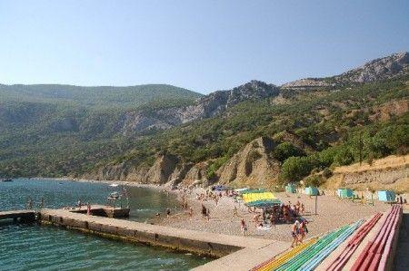 Пляжі криму (південний берег).