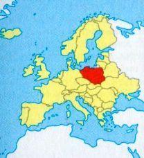 Польща на мапі