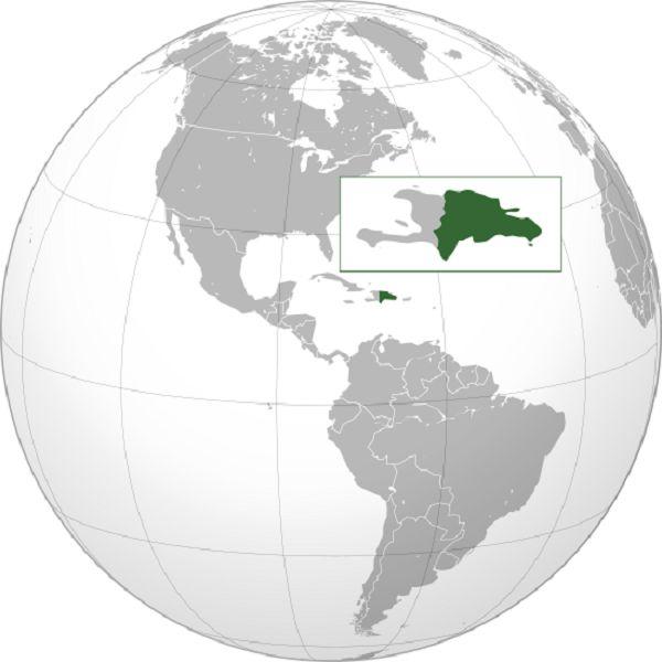 карта курортів Домінікани