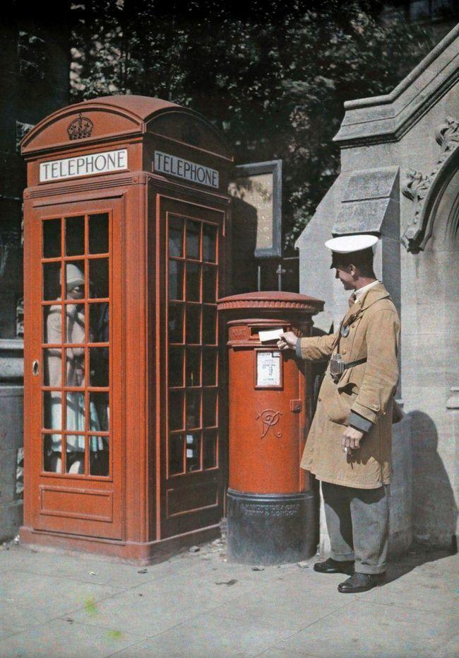 Рідкісні кольорові фотографії англії 1928 року