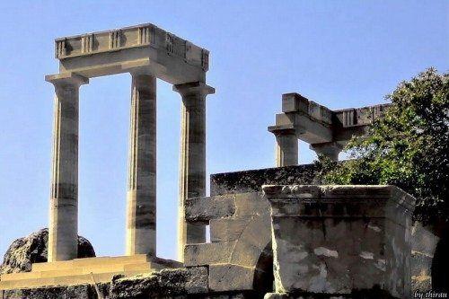 Родос: top-5 пам`яток поза столицею острова