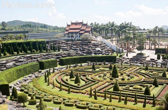 Тропічний сад Нонг Нуч в Паттайя