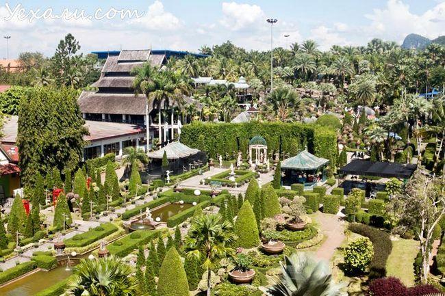 Тропічний парк Нонг Нуч в Паттайя, фото