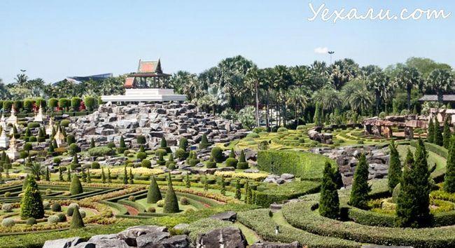 Ботанічний сад Нонг Нуч в Паттайя, Фото