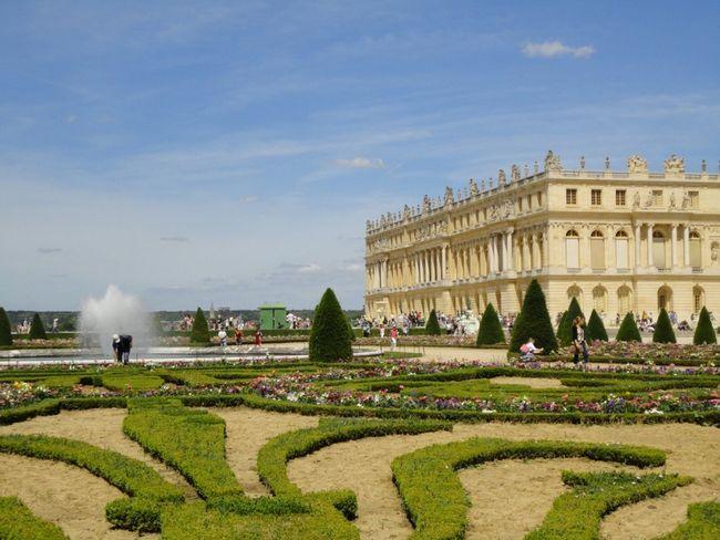 Сади і парк версаля (gardens of versailles) франція