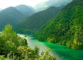 Найкрасивіше озеро в абхазії