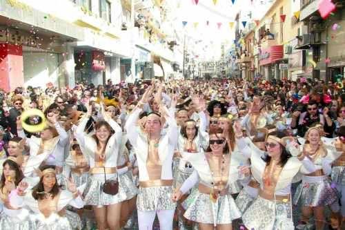 Найяскравіші карнавали греції