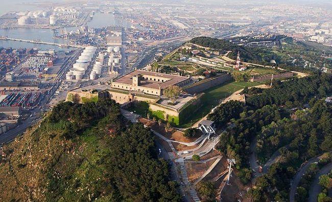 Найкрасивіші місця Барселони: Монжуїк