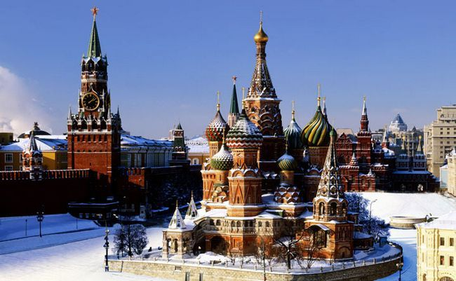 Найкрасивіші місця москви: топ-15