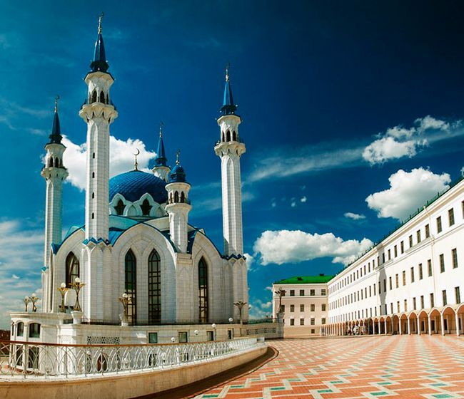 Найкрасивіші місця в Казані: Мечеть Кул-Шаріф