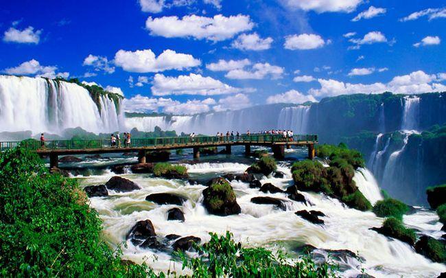 красиве місце світу: Водоспади Ігуасу