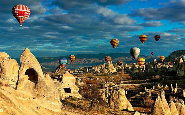 Найкрасивіші місця в світі :: Каппадокія