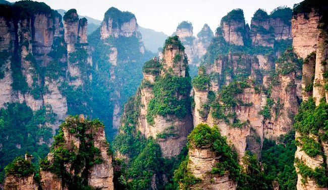 Найкрасивіші місця в світі: Гора Тяньцзі