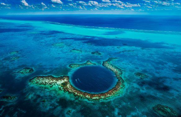 Найкрасивіші місця на Землі: велика блакитна діра