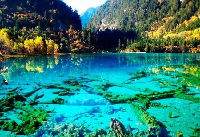гарне місце: долина Цзючжайгоу