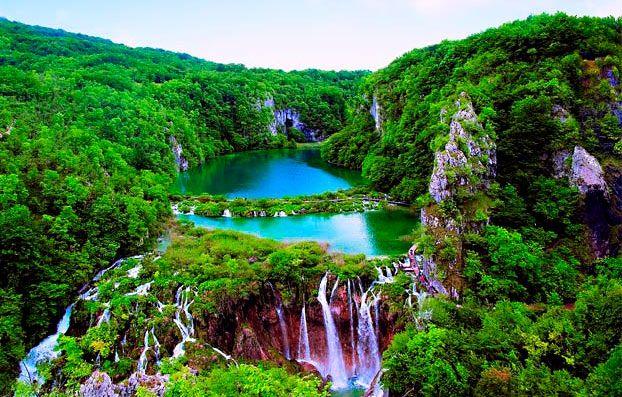 найкрасивіші місця світу: Плітвіцкие озера