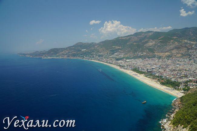 Найкращі пляжі туреччині на середземному морі: чудова п`ятірка