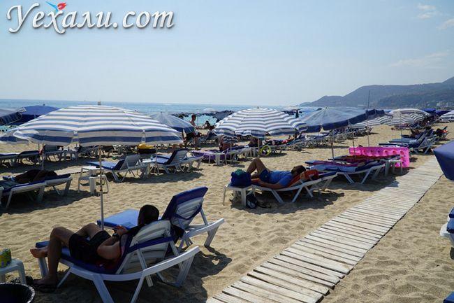 Фото пляжу в Аланії