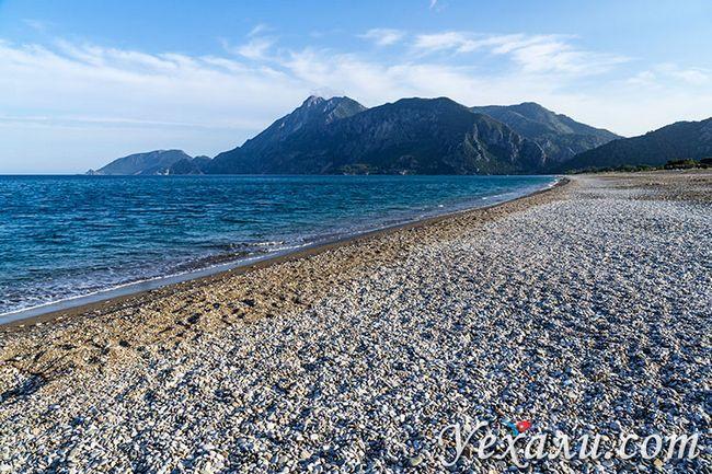 Кращі пляжі Туреччини на Середземному морі: Чірали