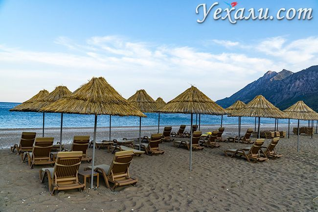 Кращі пляжі Туреччини на Середземному морі: пляж Чірали