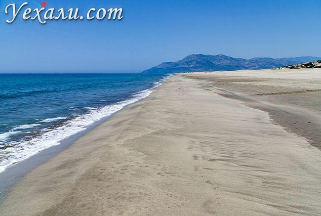 Кращі пляжі Туреччини на Середземному морі: Патара Біч