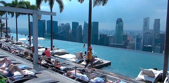 Панорамний басейн в Сінгапурі-2