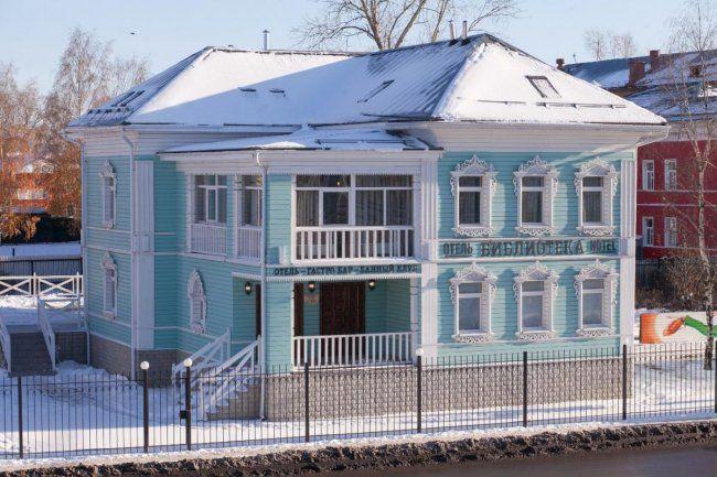 Самі незвичайні готелі росії
