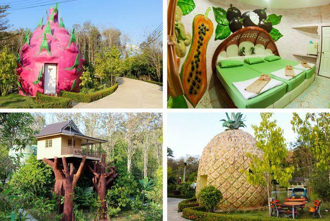 Фруктовий рай на річці Квай, готель Baan PhaSawan.