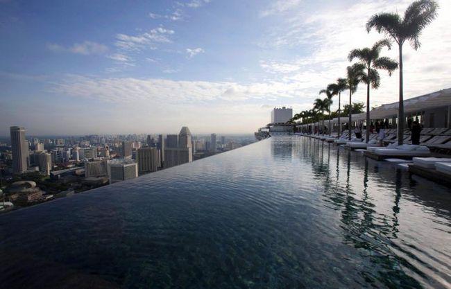 Самі незвичайні басейни для плавання в світі