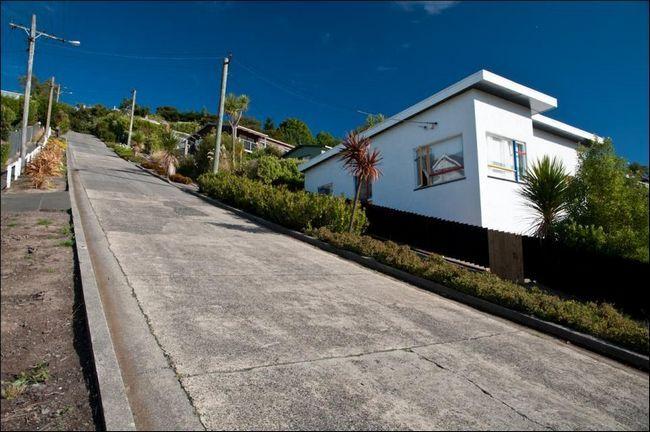 Крута вулиця в Новій Зеландії 3