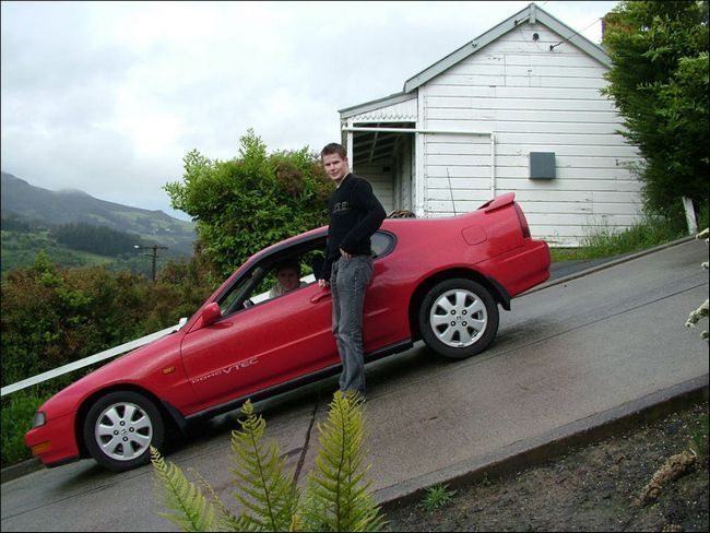 Крута вулиця в Новій Зеландії 6