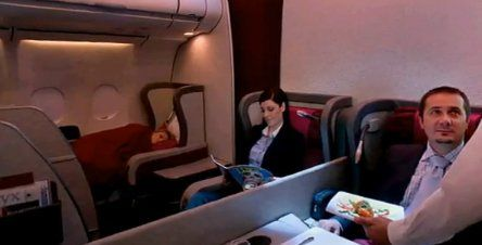 qatar-airways-a-ten-course-meal-is-serve