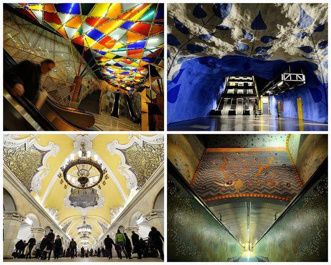 Найбільш вражаючі станції метро в європі