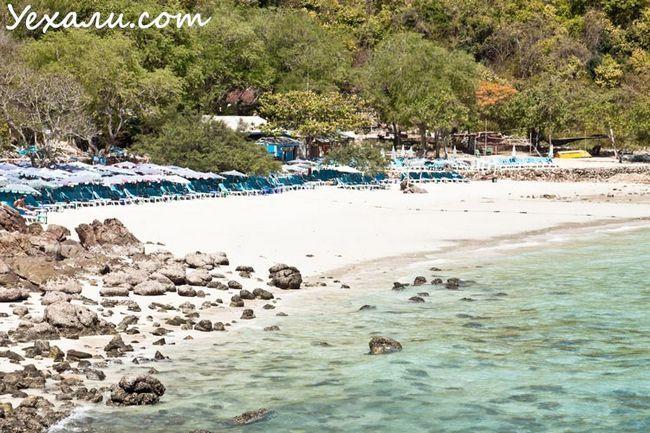 Sangwan Beach, кращий пляж острова Ко Лан