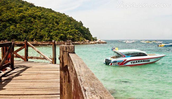 Пляжі острова Ко Лан. Сангван Біч.