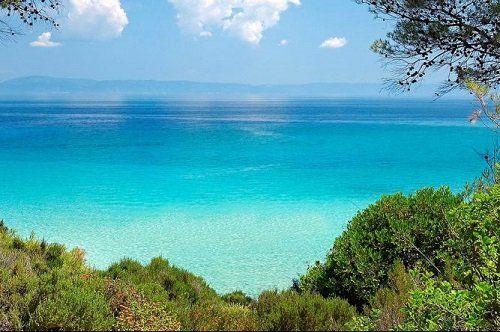 Сани бич - кращий курорт материкової греції