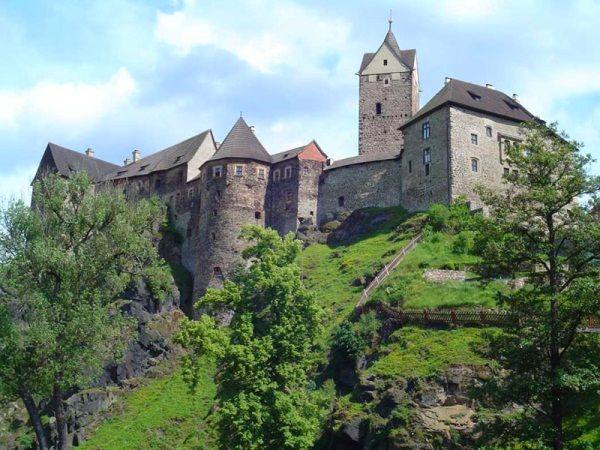 Штернберг, локет і інші замки чехії: назви, фото, особливості, історія