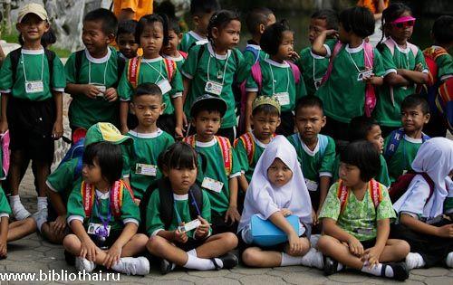 Рейтинг успішності школярів таїланду падає з кожним роком.