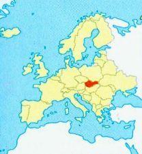 Словаччина на мапі