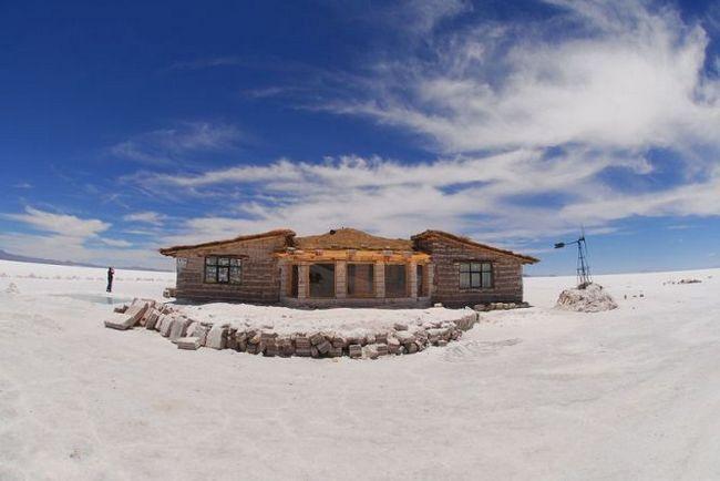 Соляний готель, паласіо-де-саль (palacio de sal) солончак уюні, болівія