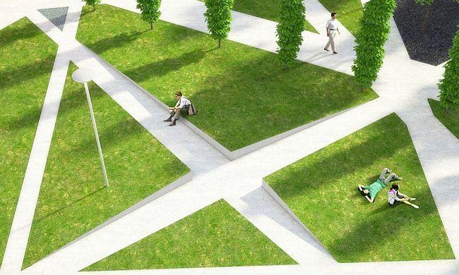 Сучасне студентське парк «Scholars & rsquo- Green Park»