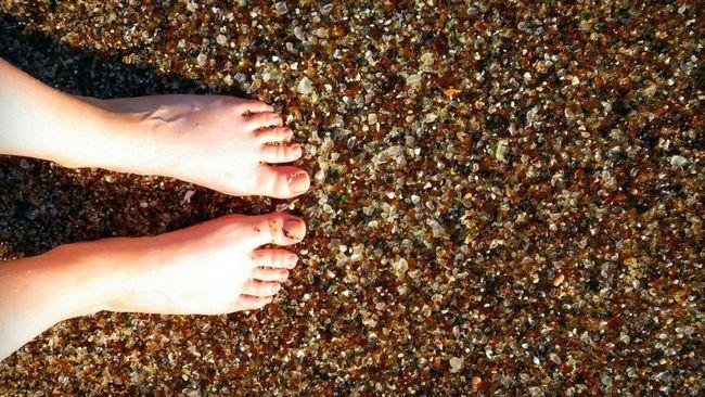Скляний Пляж (Glass Beach), Форт Брегг (Fort Bragg), Каліфорнія, США