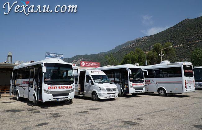 Автобусна станція в Туреччині