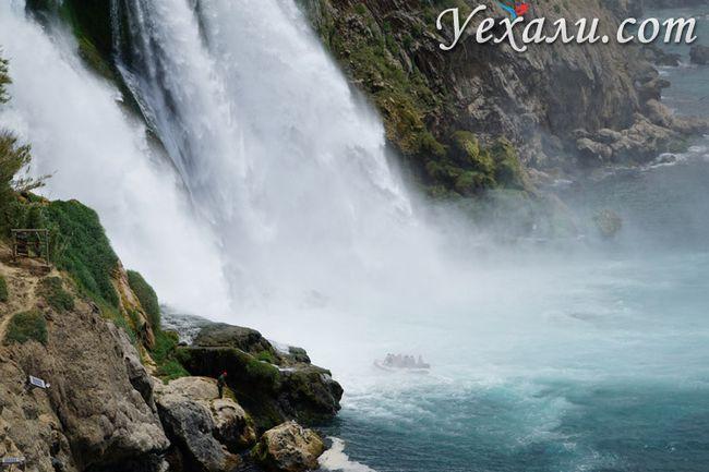 Водоспад Нижній Дюден